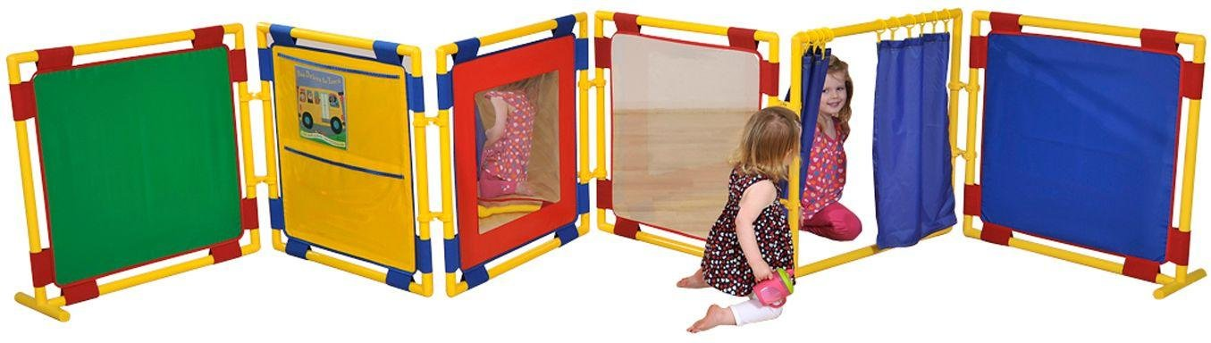 Outdoor 6 x Square Activity Play Panels - S