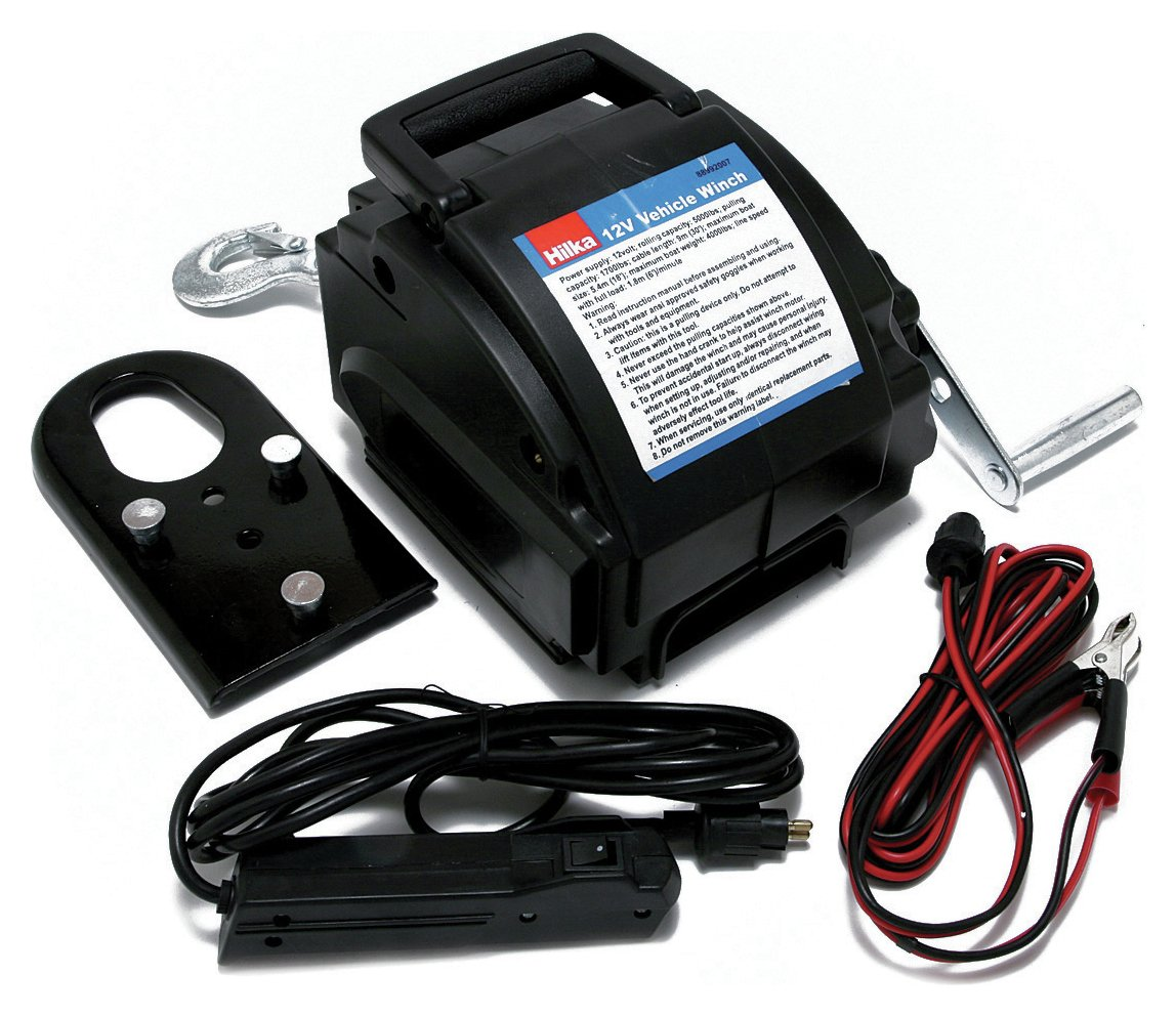 12 Volt Vehicle Winch.