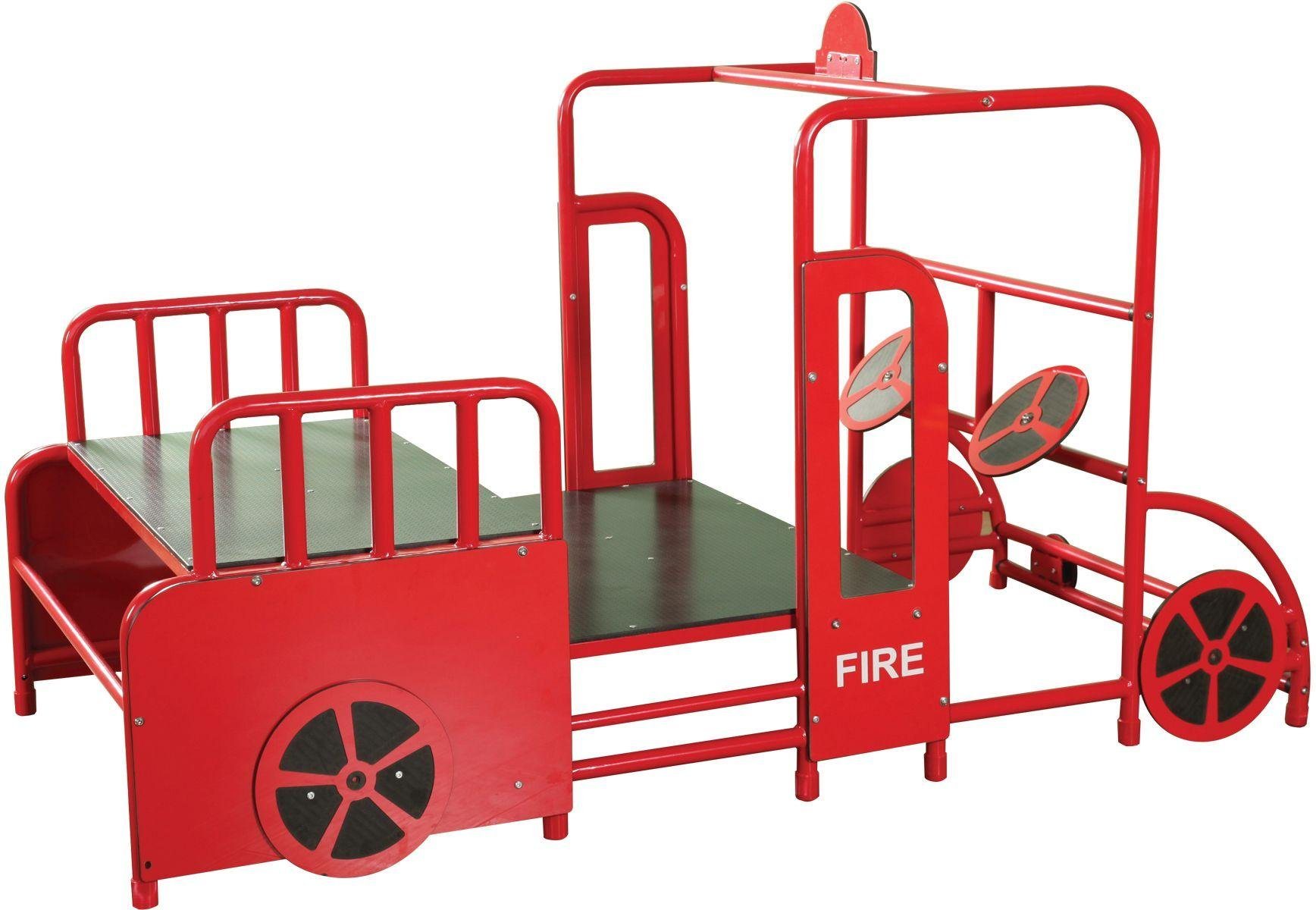 Wisdom Wisdom Play Gym Fire Station.