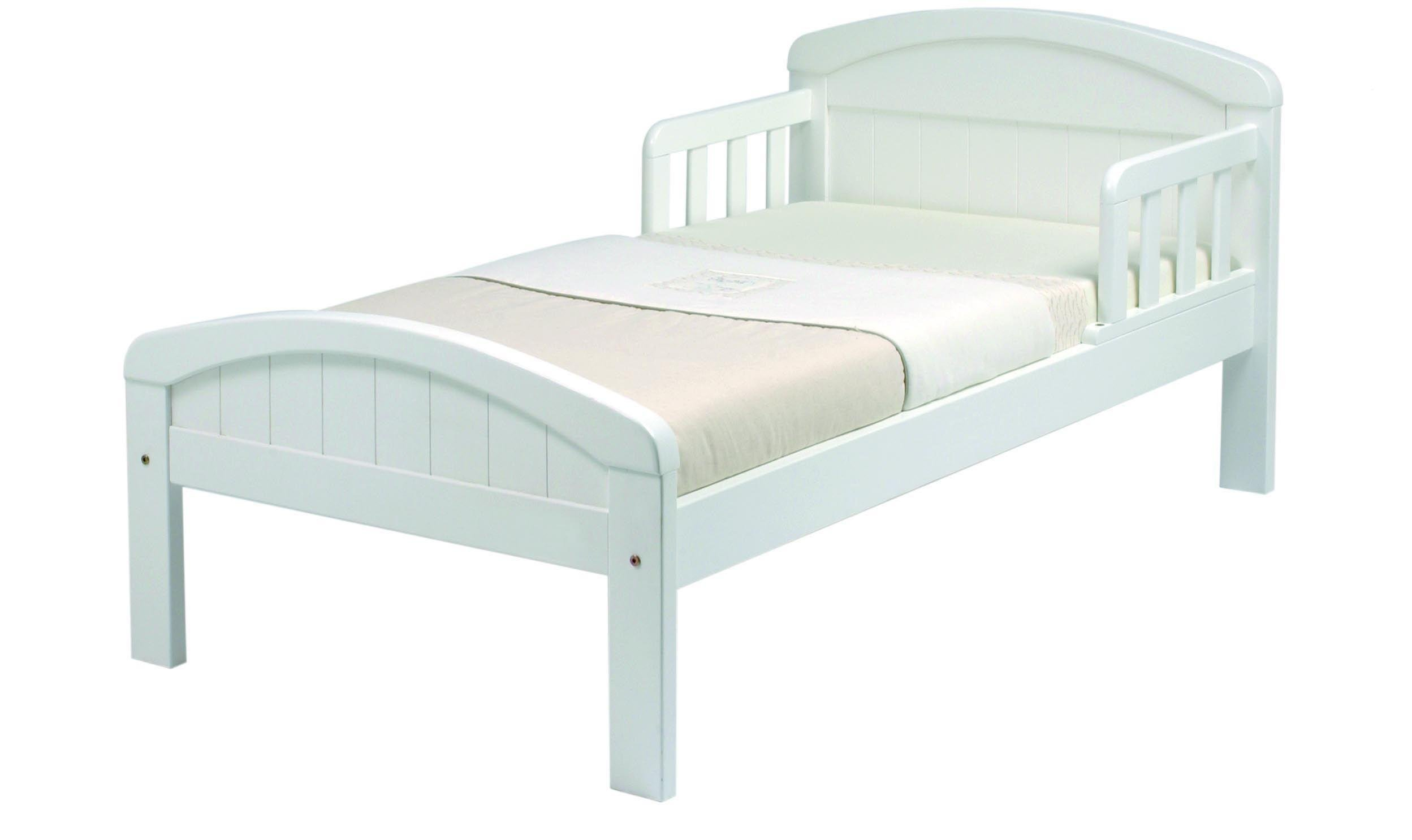 Image of East Coast Nursery Country Toddler Bed - White