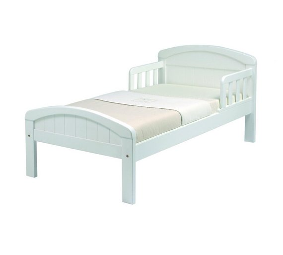 Buy East Coast Nursery Country Toddler Bed - White | Kids beds | Argos