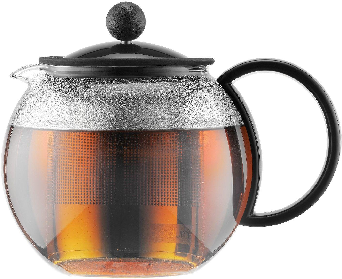 Image of Bodum - Assam Tea Press with Filter - Black