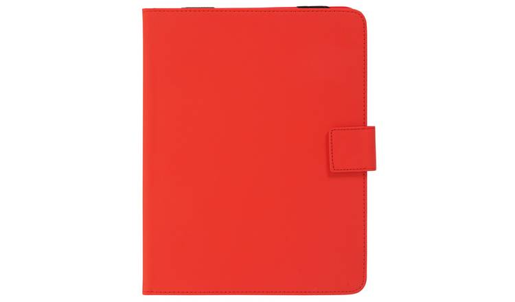 Universal 9/10 Inch Leather Effect Tablet Case - Red