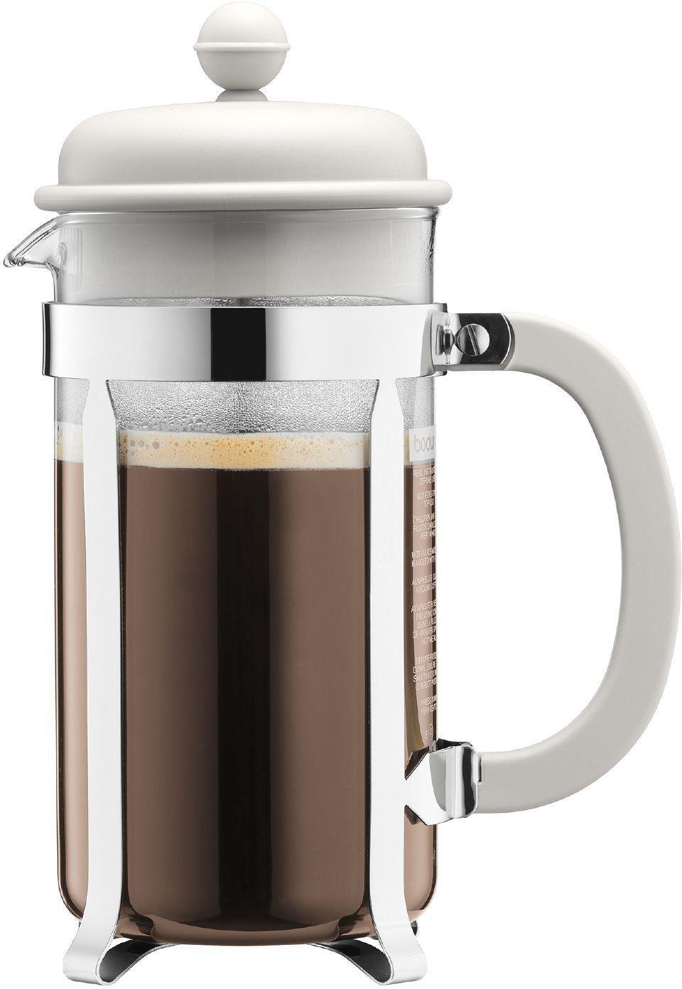 Image of Bodum - Caffettiera Coffee Maker 8 Cup - White