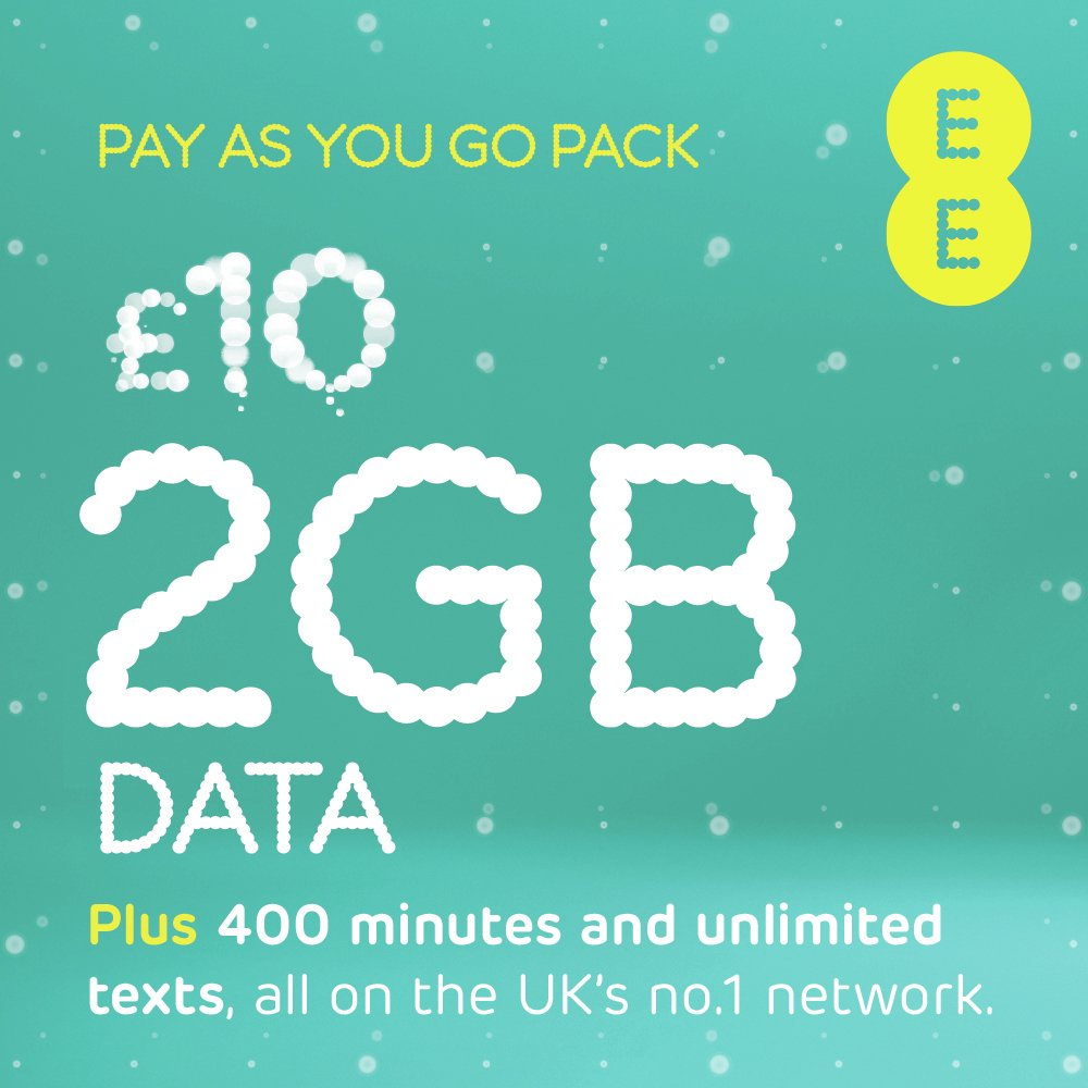 Image of EE Combi Voice SIM Card