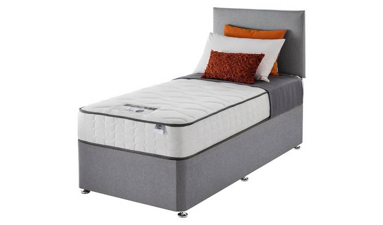 Silentnight Middleton 800 Pkt Comfort Single Divan - Grey