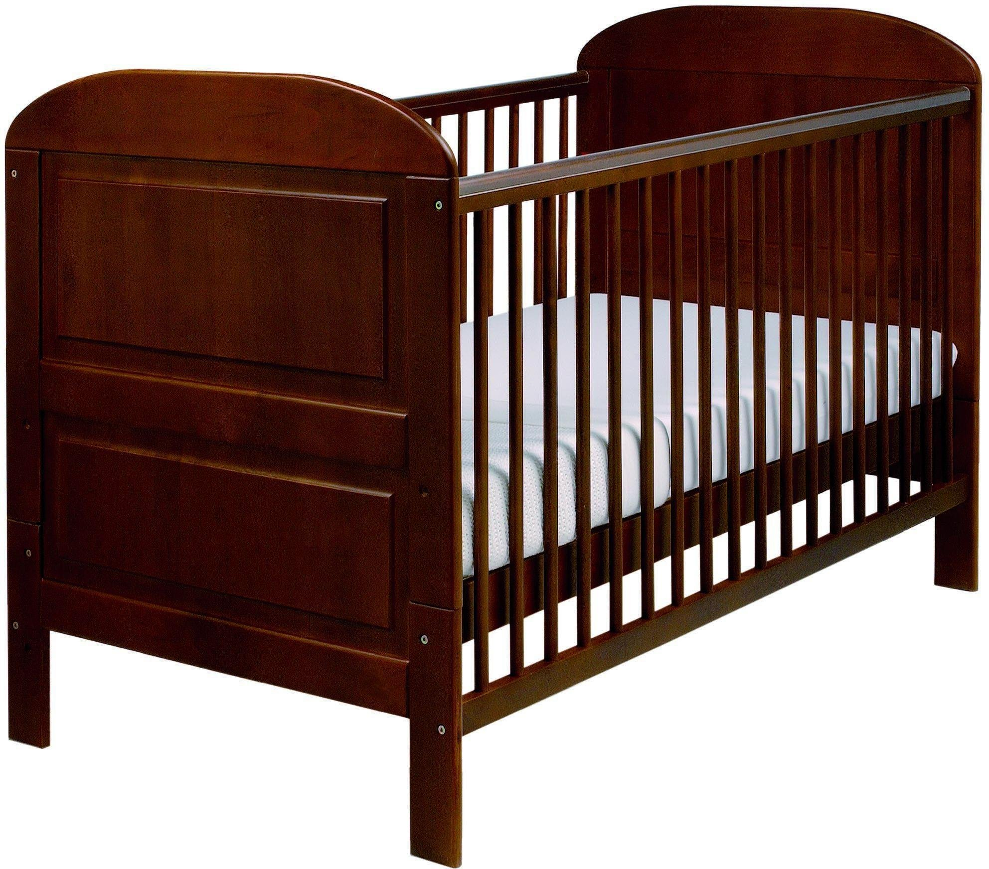 Image of East Coast - Nursery Angelina - Cot Bed - Cocoa