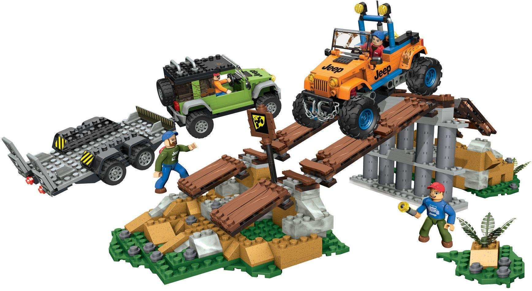Mega Bloks - Jeep Off Road Adventure