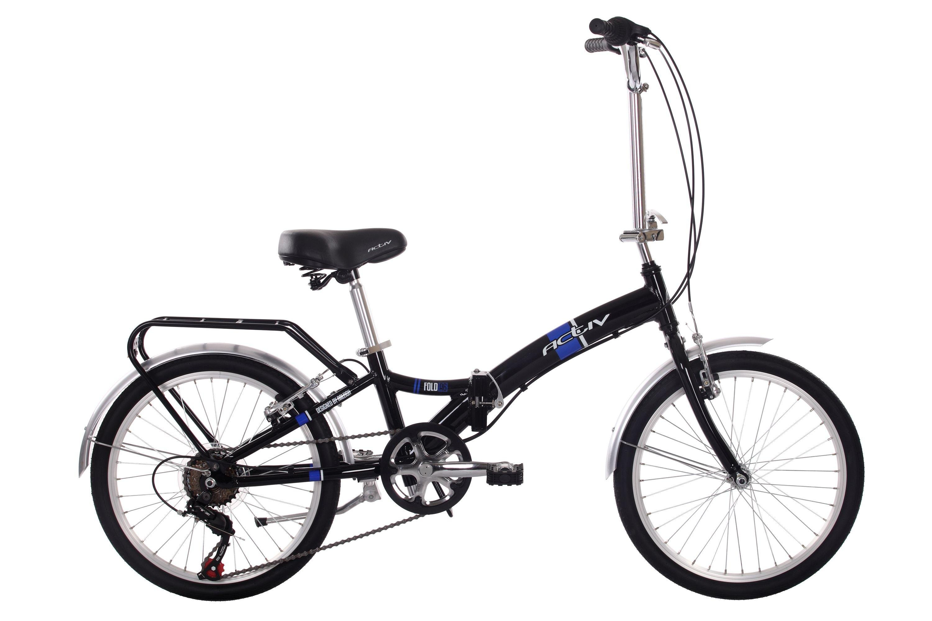 Image of Activ - Fold A6 Folder Alloy Folding - Bikes - Unisex