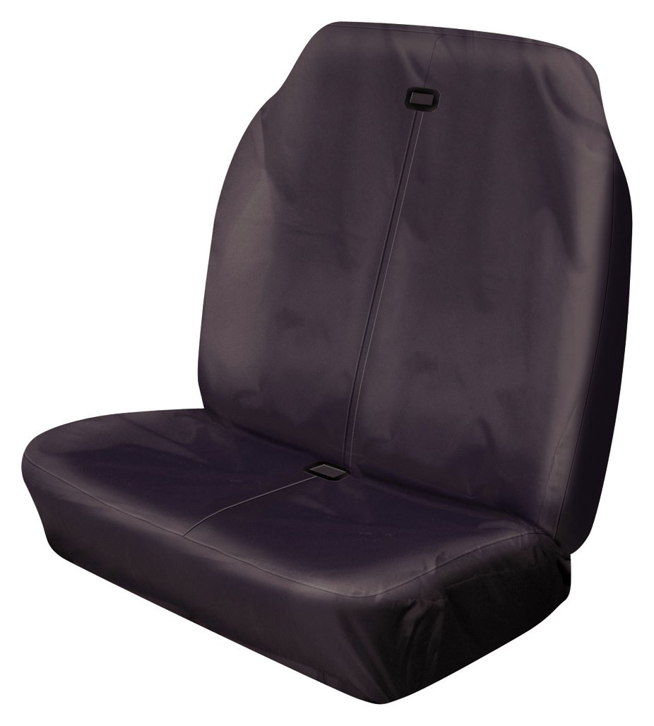 Cosmos - Hi Back Double Seat Cover - Black