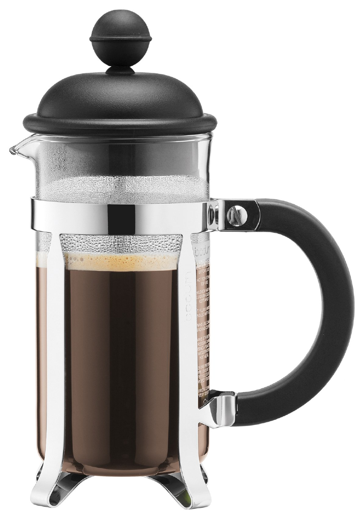 Bodum - Caffettiera Coffee Maker 3 Cup - Black