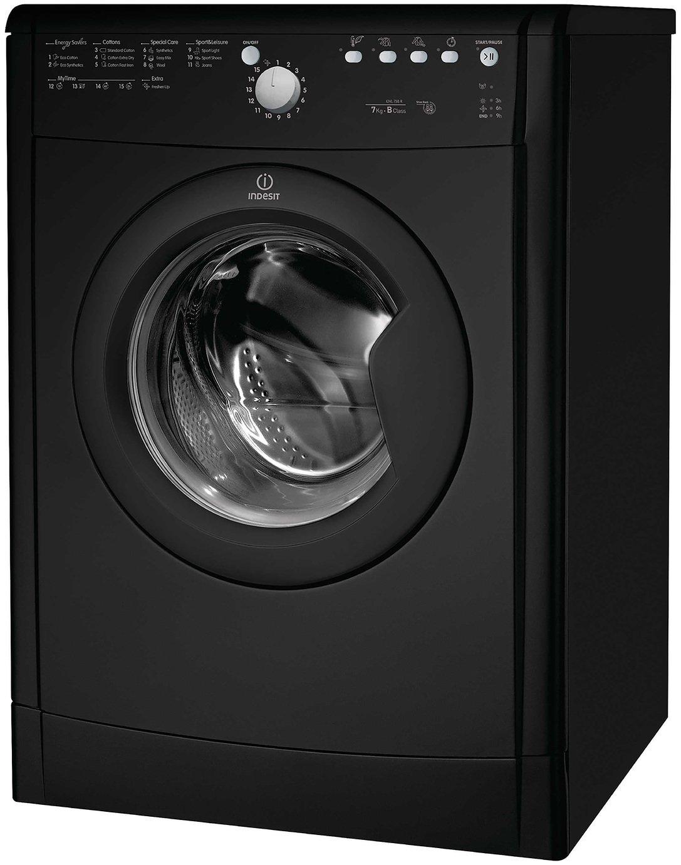 Indesit IDVL75BRK 7KG Tumble Dryer - Black.