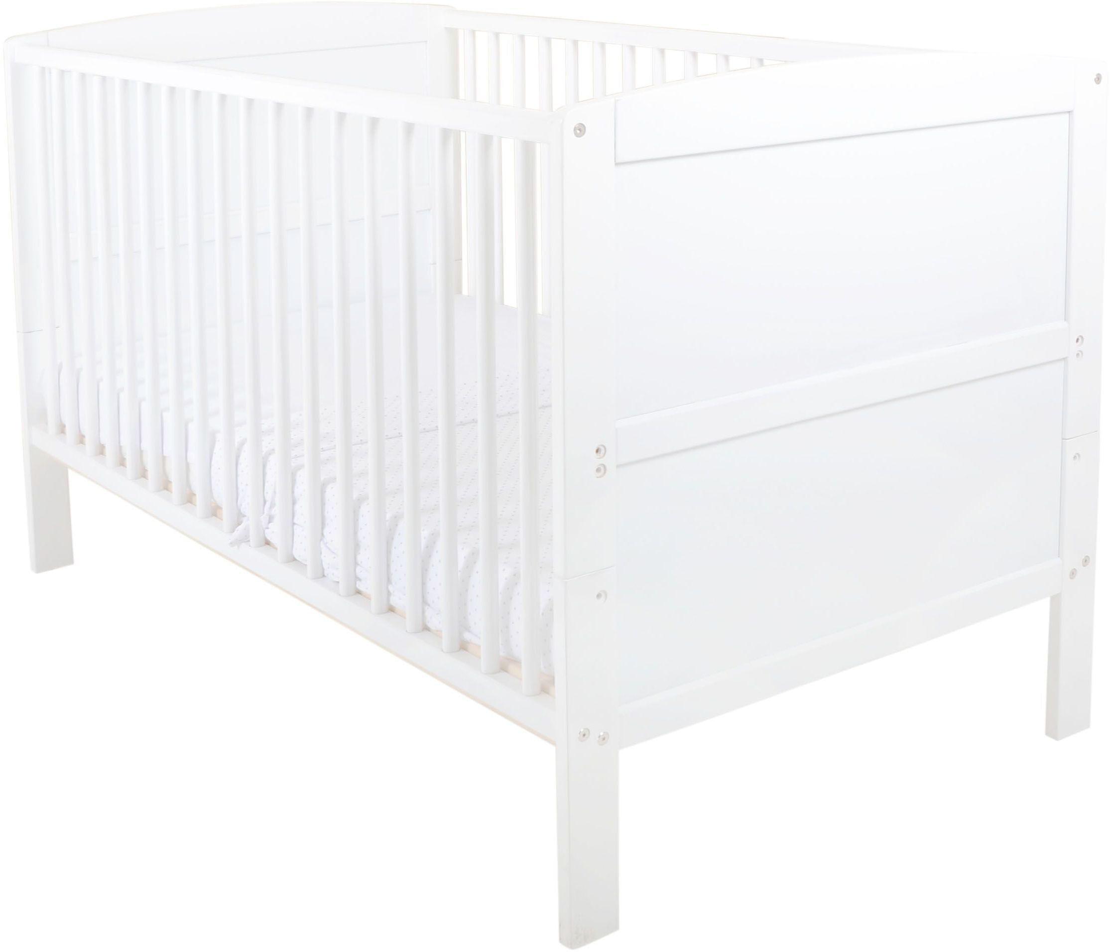 Image of East Coast - Nursery Hudson - Cot Bed - White
