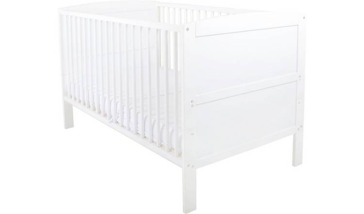 East Coast Nursery Hudson Baby Cot Bed - White
