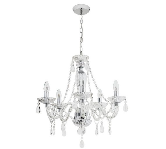 Buy heart of house como 5 light glass ceiling fitting at argos heart of house como 5 light glass ceiling fitting aloadofball Image collections