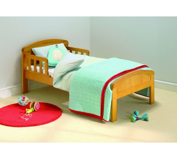 buy east coast nursery country toddler bed natural at. Black Bedroom Furniture Sets. Home Design Ideas