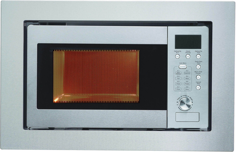 Belling UWM60 700W Built In Microwave - Stainless Steel