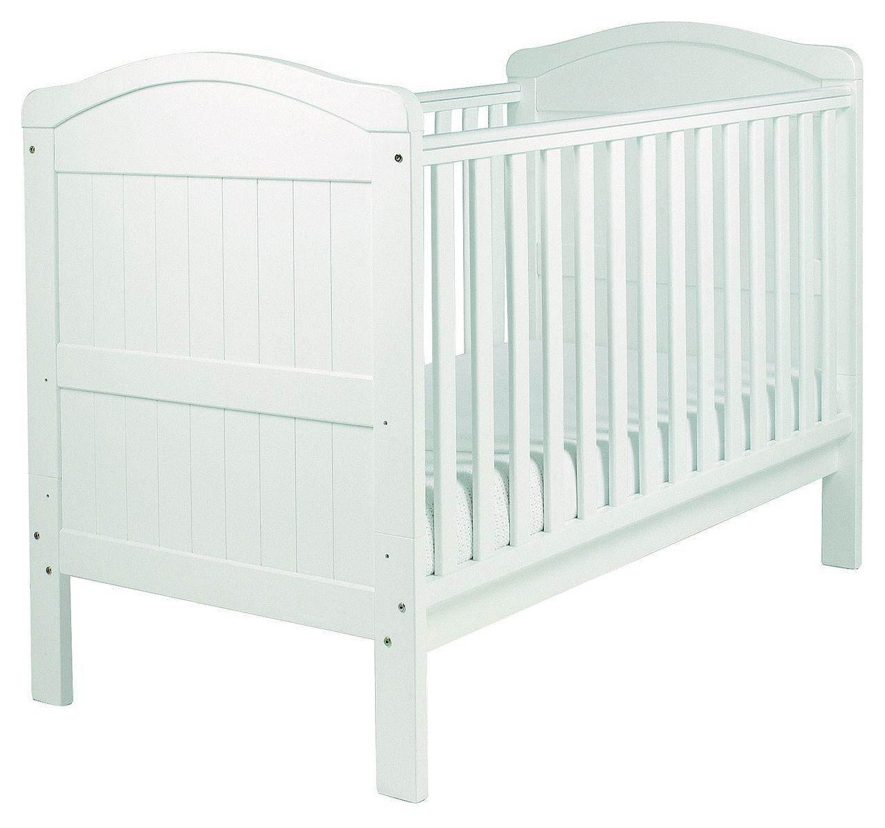 Image of East Coast - Nursery Country - Cot Bed - White