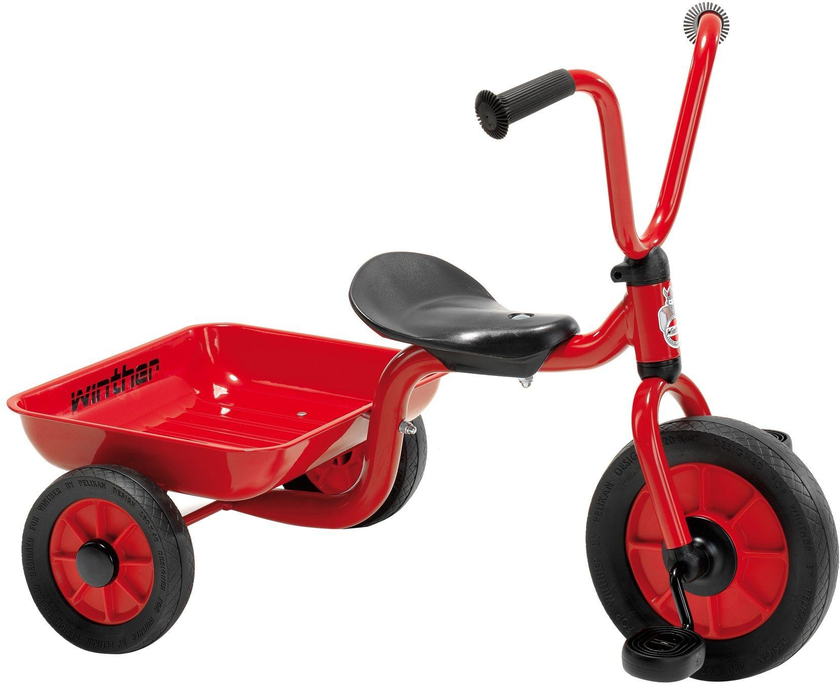 Winther Mini Viking Tricycle With Tray   Red.