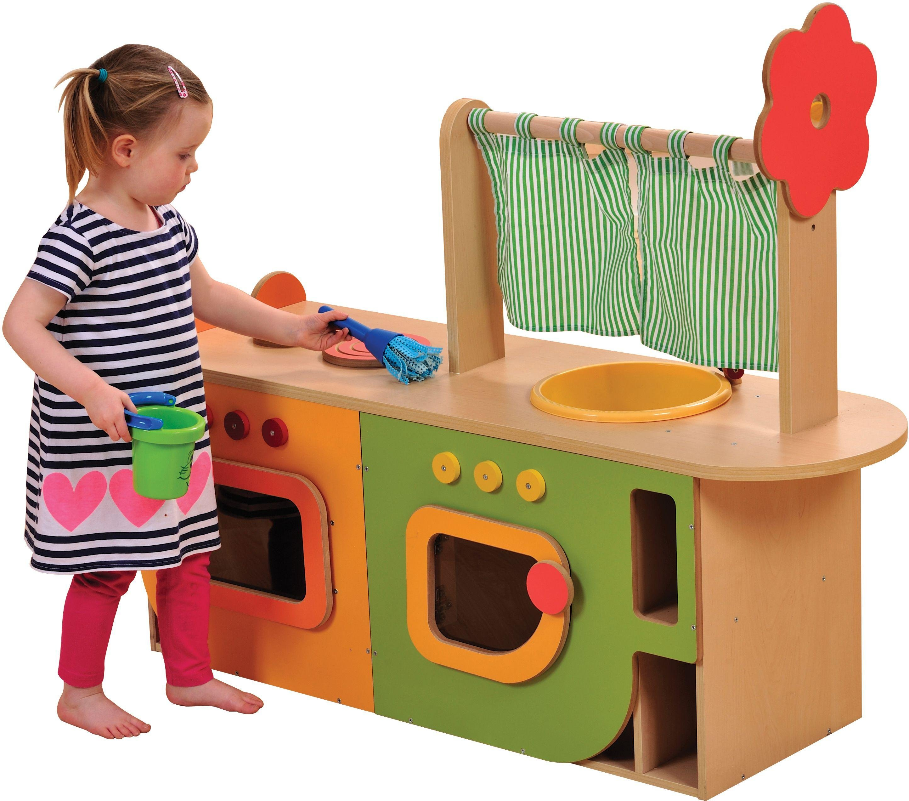 Image of All in One Play Kitchen.