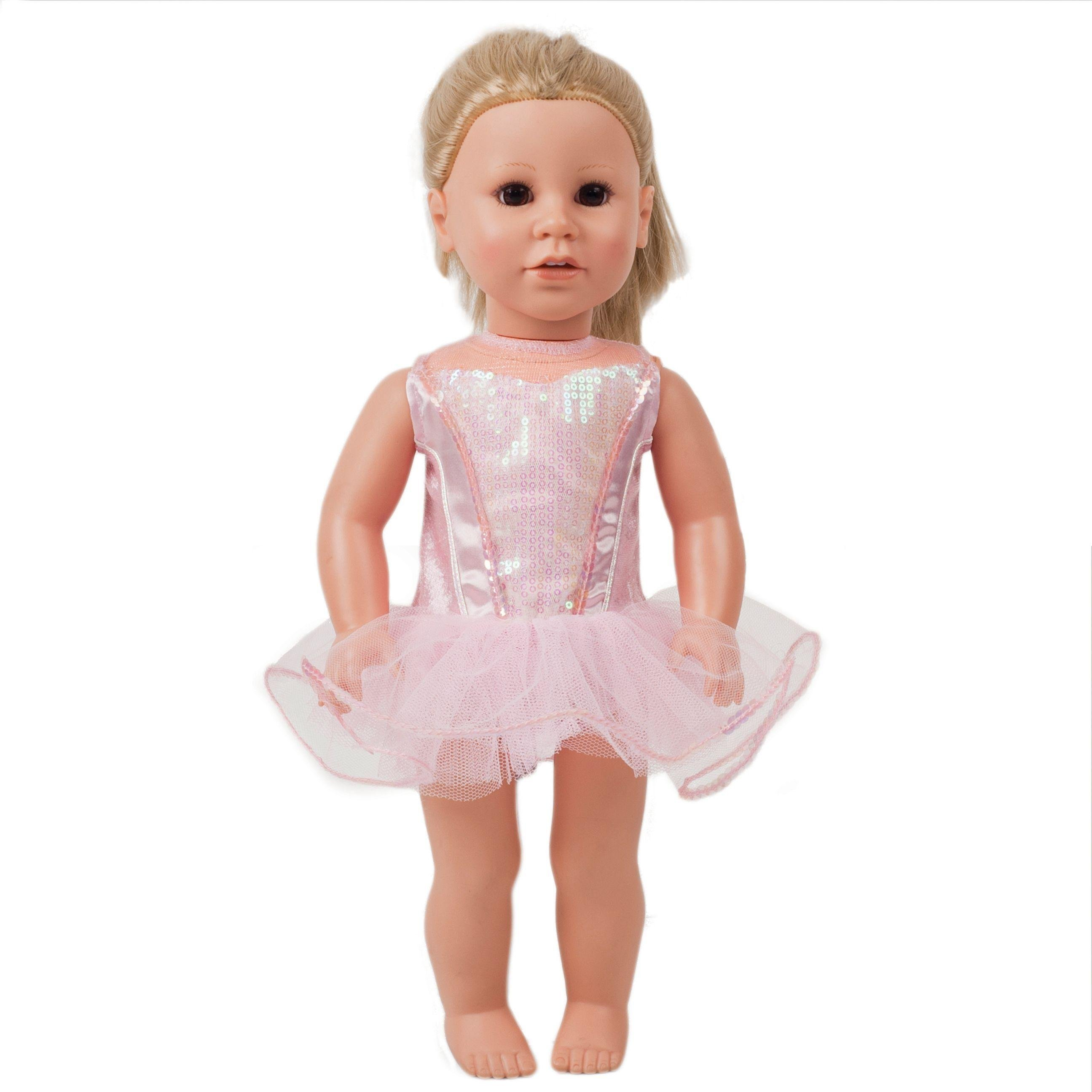 Ballerina Doll's Costume - 40-51cm