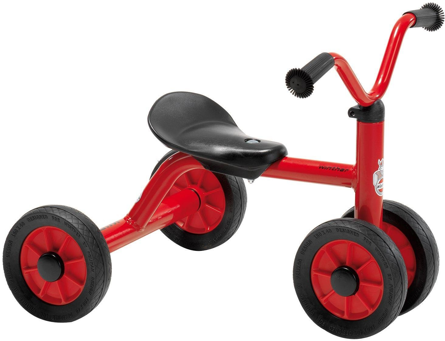 Winther Mini Viking Push Bike For One   Red.