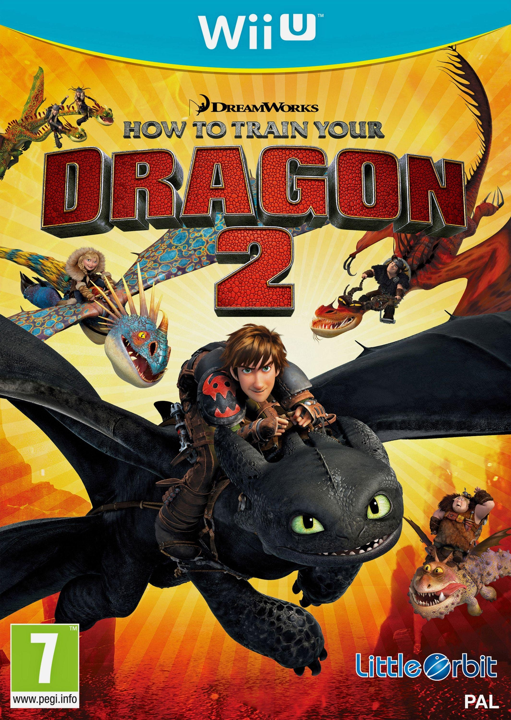 Image of How to Train Your Dragon 2 Nintendo - Wii U - Game