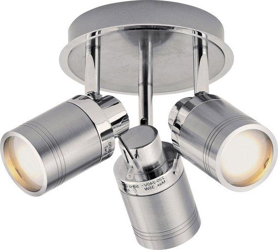 buy collection livorno 3 light bathroom spotlight chrome. Black Bedroom Furniture Sets. Home Design Ideas