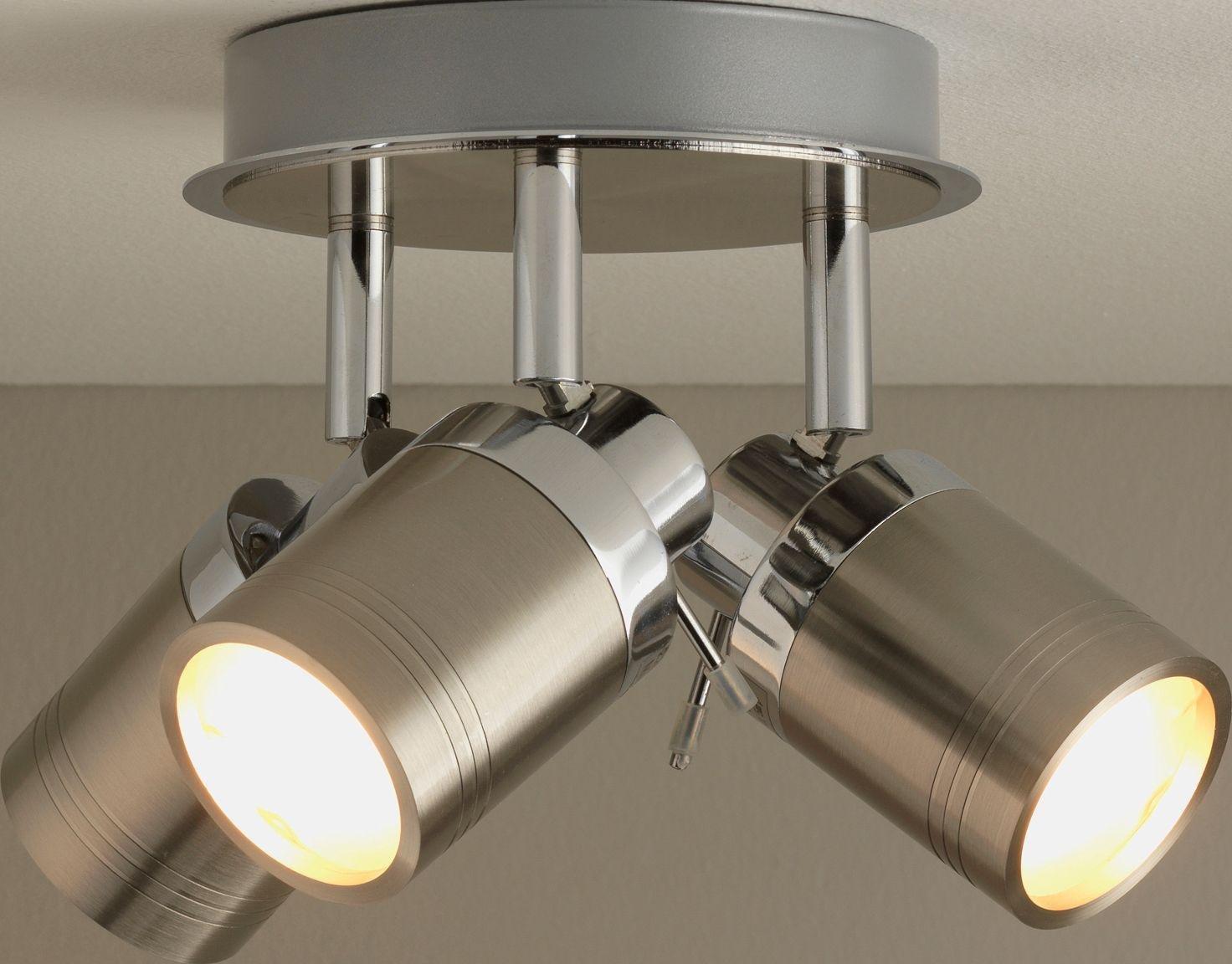 Bathroom Light Fixtures Argos buy collection livorno 3 light bathroom spotlight - chrome at