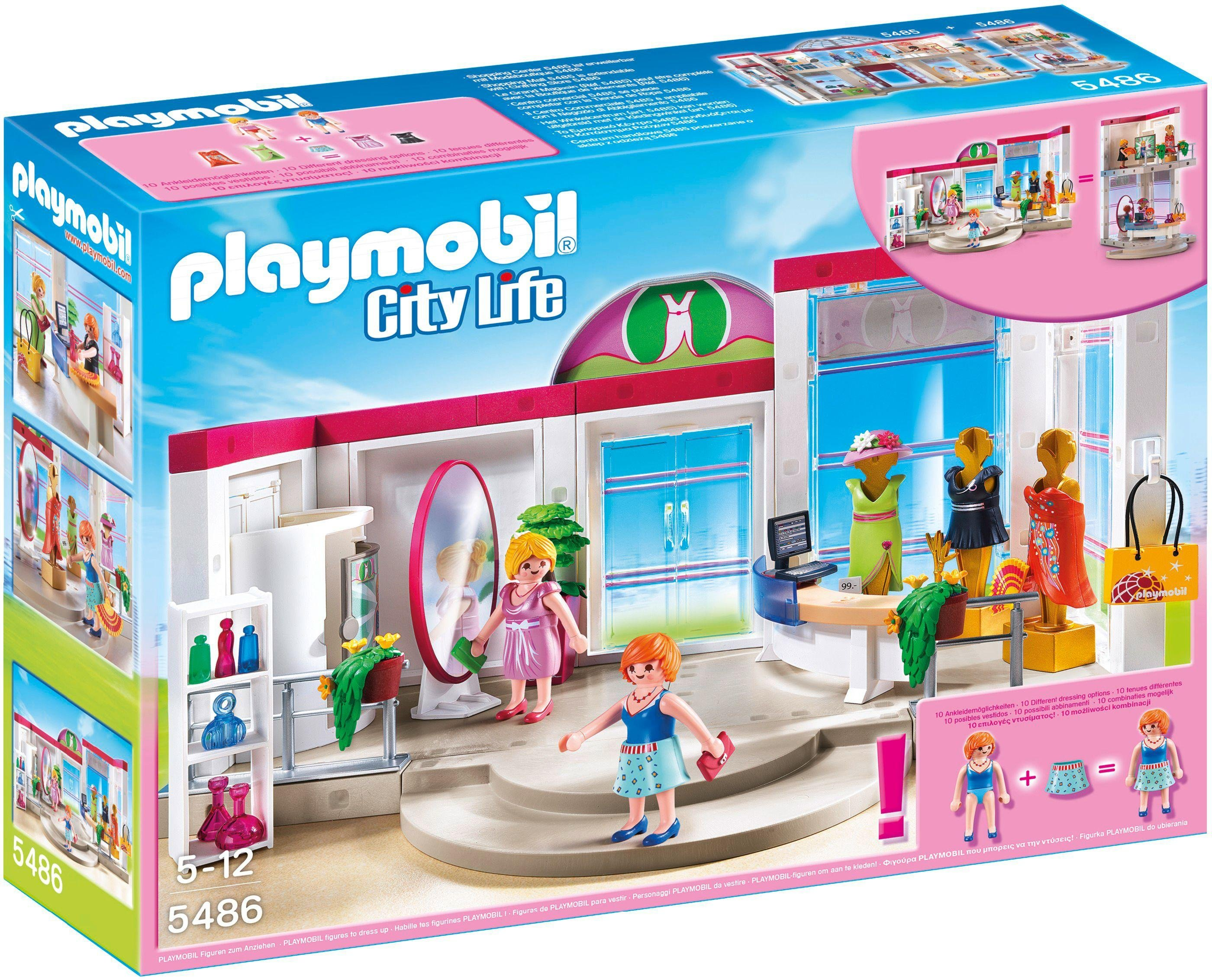 Image of Playmobil 5486 City Life Clothing Boutique.