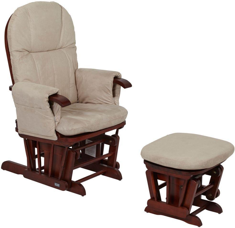 tutti bambini  gc35 glider  chair  walnut