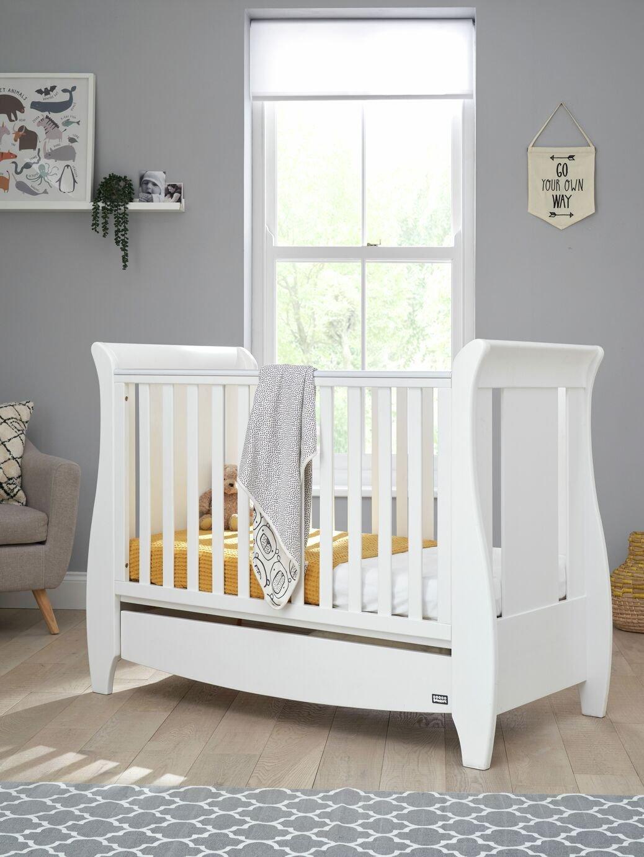 Tutti Bambini Katie Cot Bed - White.