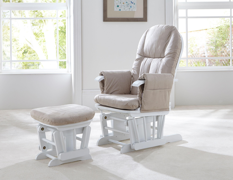 Tutti Bambini GC35 Glider Chair - White.