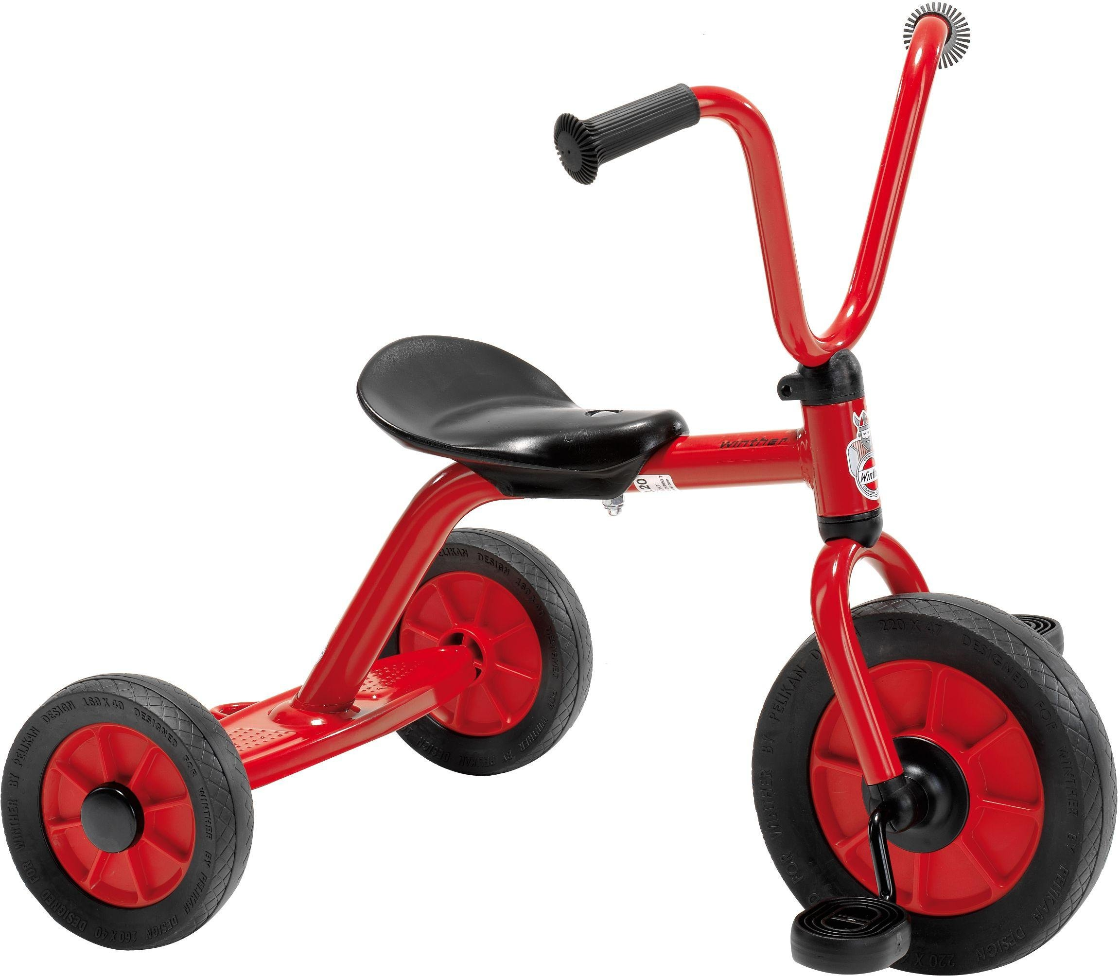 Winther Mini Viking Tricycle   Red.