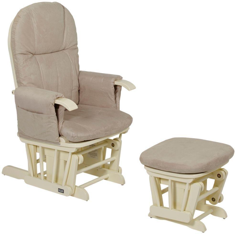tutti bambini gc35 glider chair  vanilla.