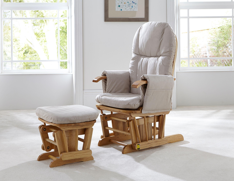 Tutti Bambini GC35 Glider Chair - Natural.