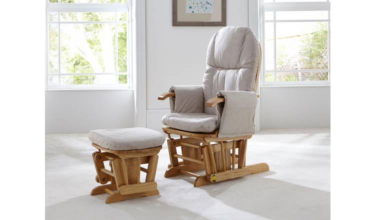 low priced 09014 b3511 Buy Tutti Bambini GC35 Glider Chair - Natural | Nursing chairs and  footstools | Argos
