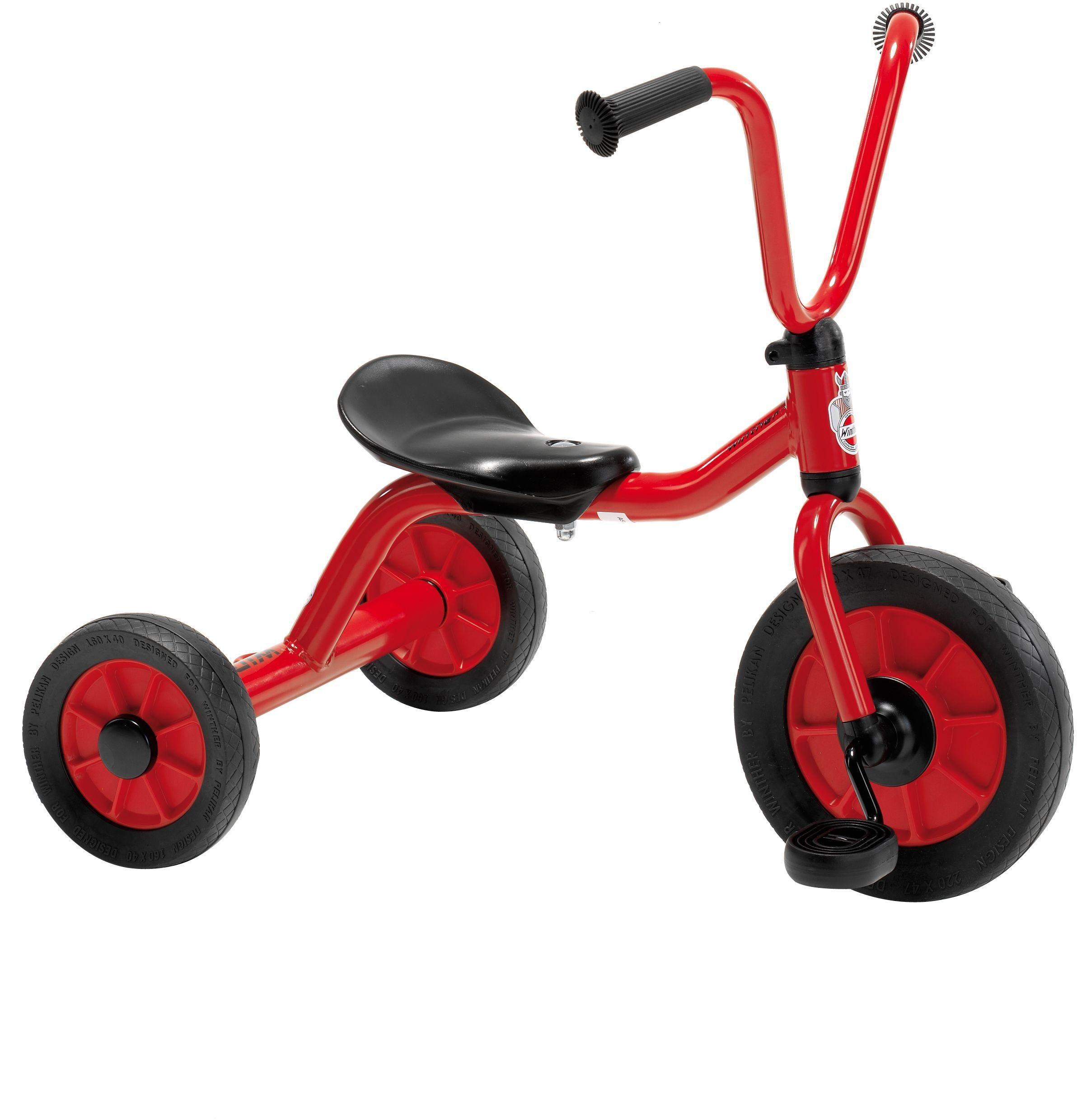 Winther Mini Viking Low Tricycle   Red.