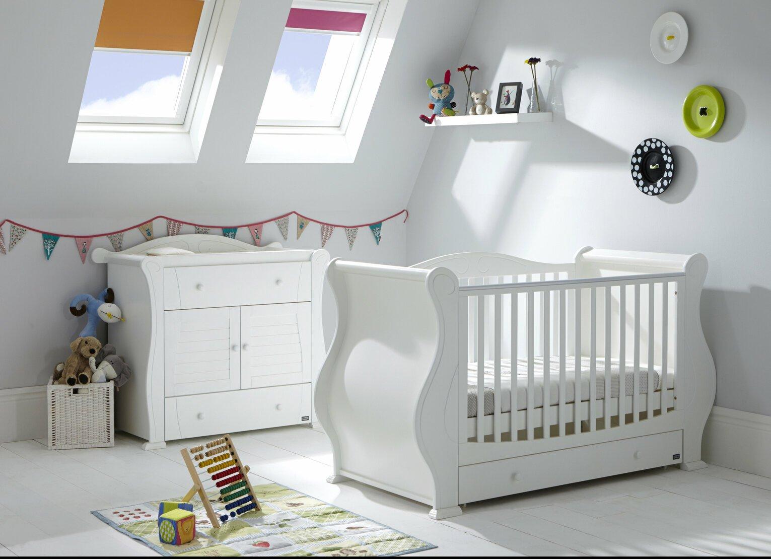 Tutti Bambini Marie 2 Piece Room Set - White