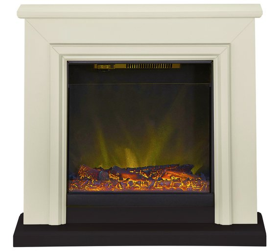Buy Adam Kensington 2kw Electric Fireplace Suite Stone Black At Your Online