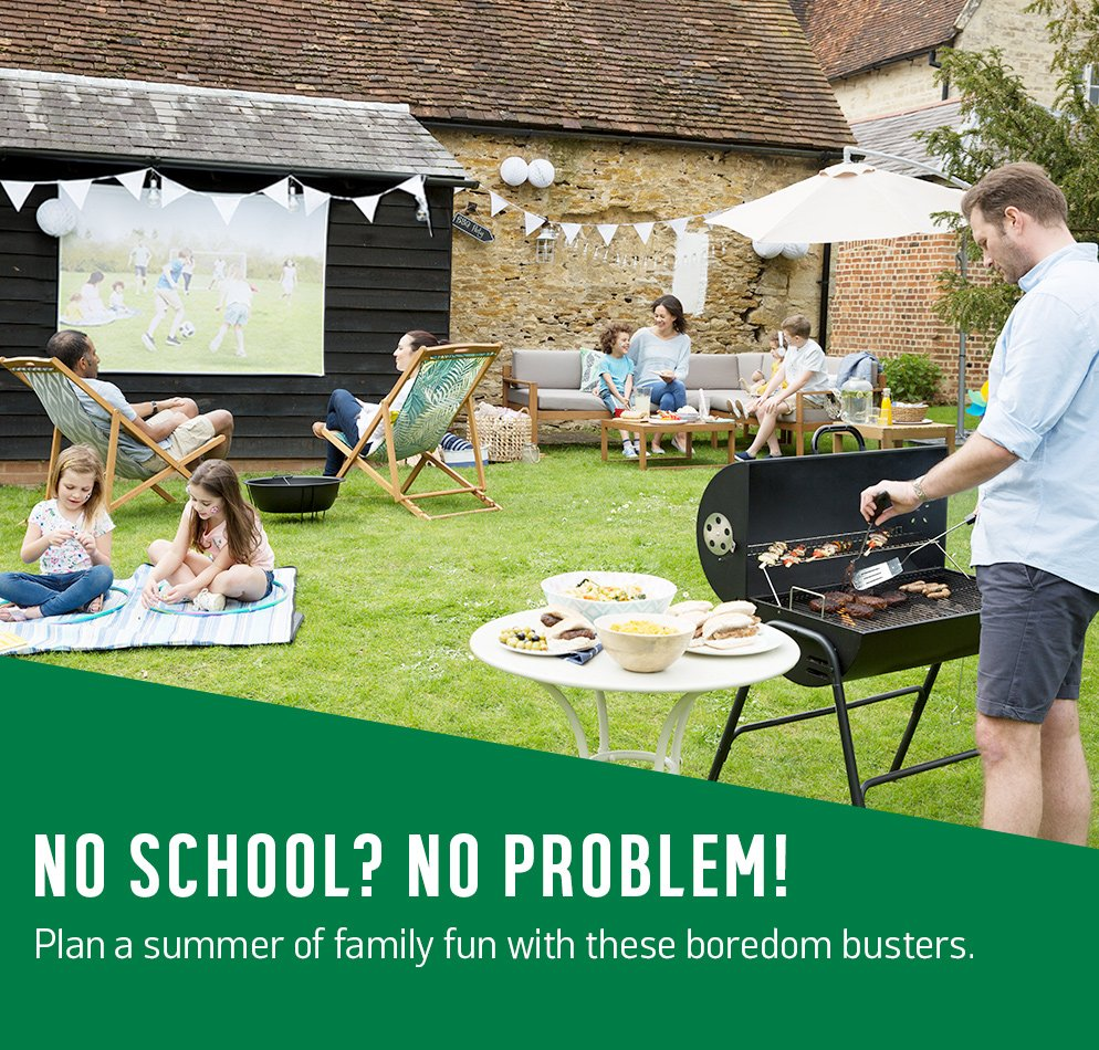 No school? No problem! Plan a summer of family fun with these boredom busters.
