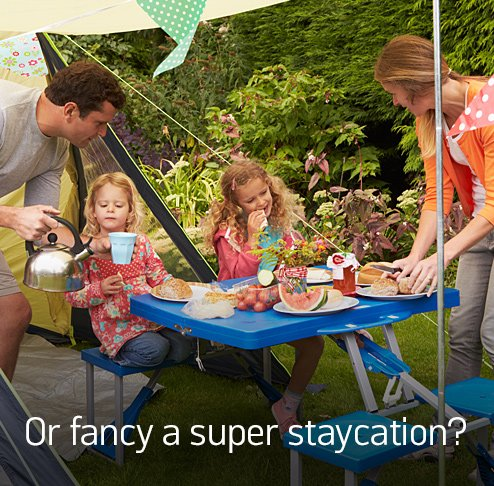 Or fancy a super staycation?