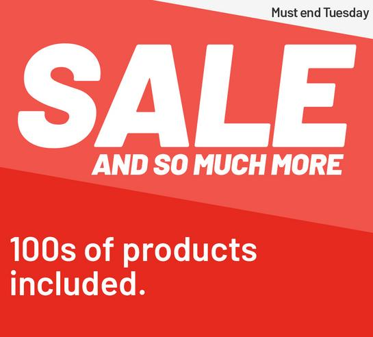Sale and so much more. 100s of products included.