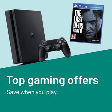 Top gaming offers. Save when you play.