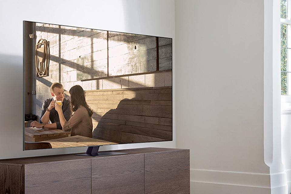 Samsung Q80T QLED 4K HDR 1500 [1000] Smart TV with Tizen OS.