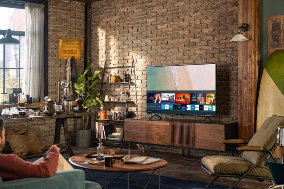 TU7100 HDR Smart 4K TV with Tizen OS.