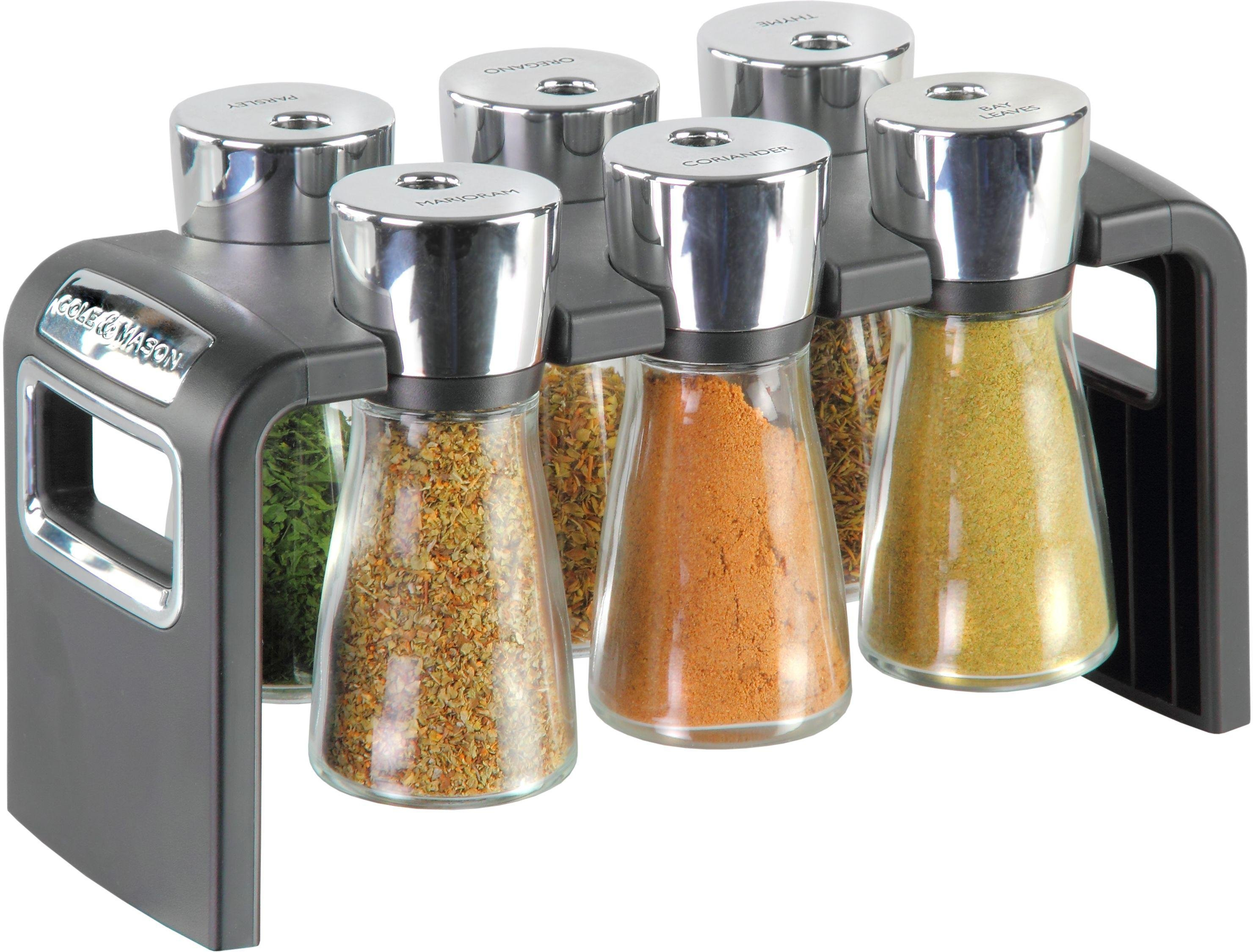Image of Cole & Mason - 6 Jar Spice Rack