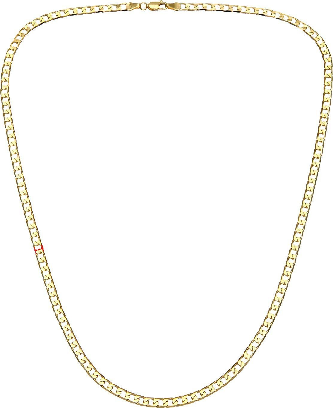 Image of 9ct Gold 22 inch Solid Chain Necklace