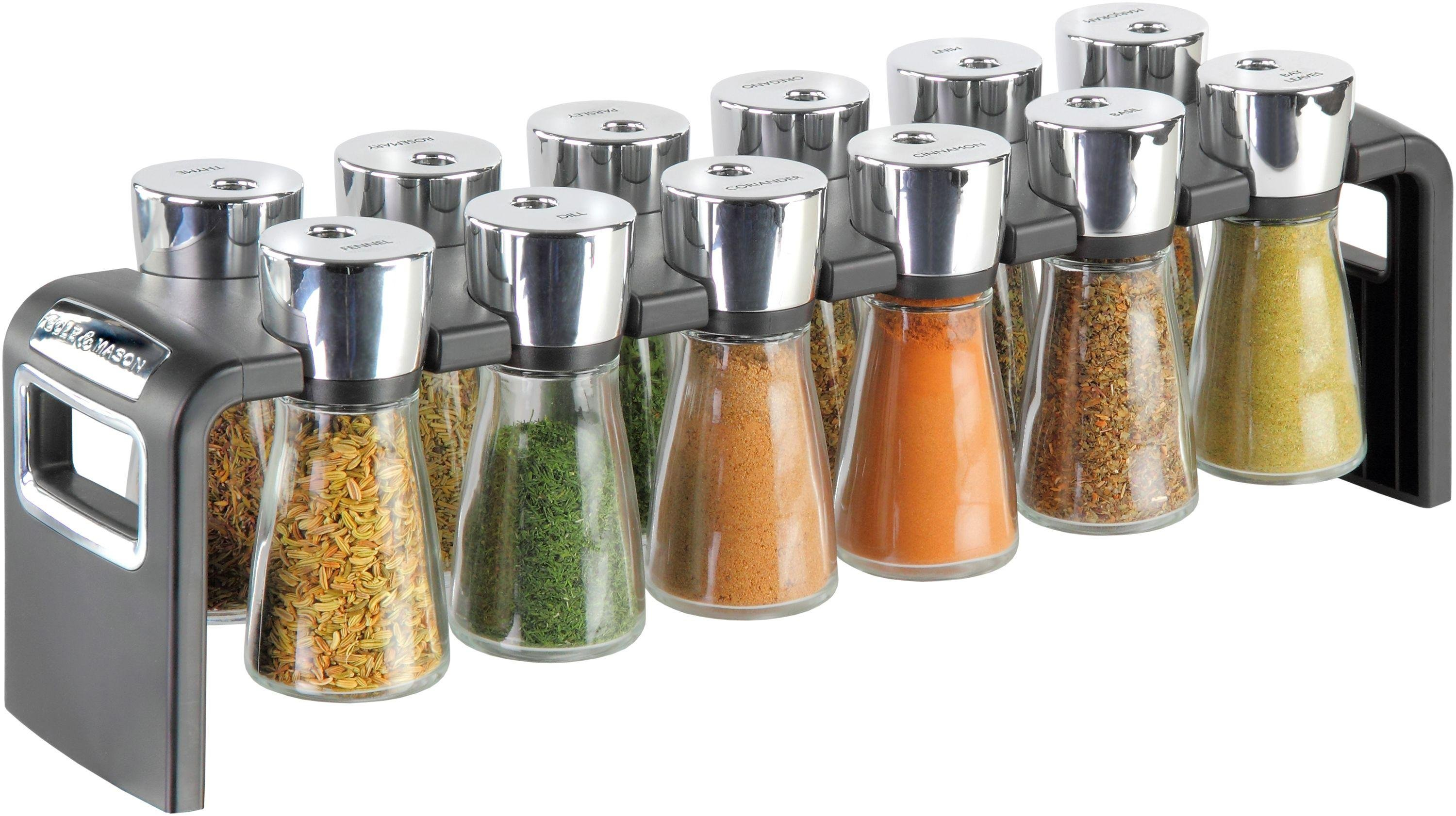Image of Cole & Mason - 12 Jar Herb and Spice Rack