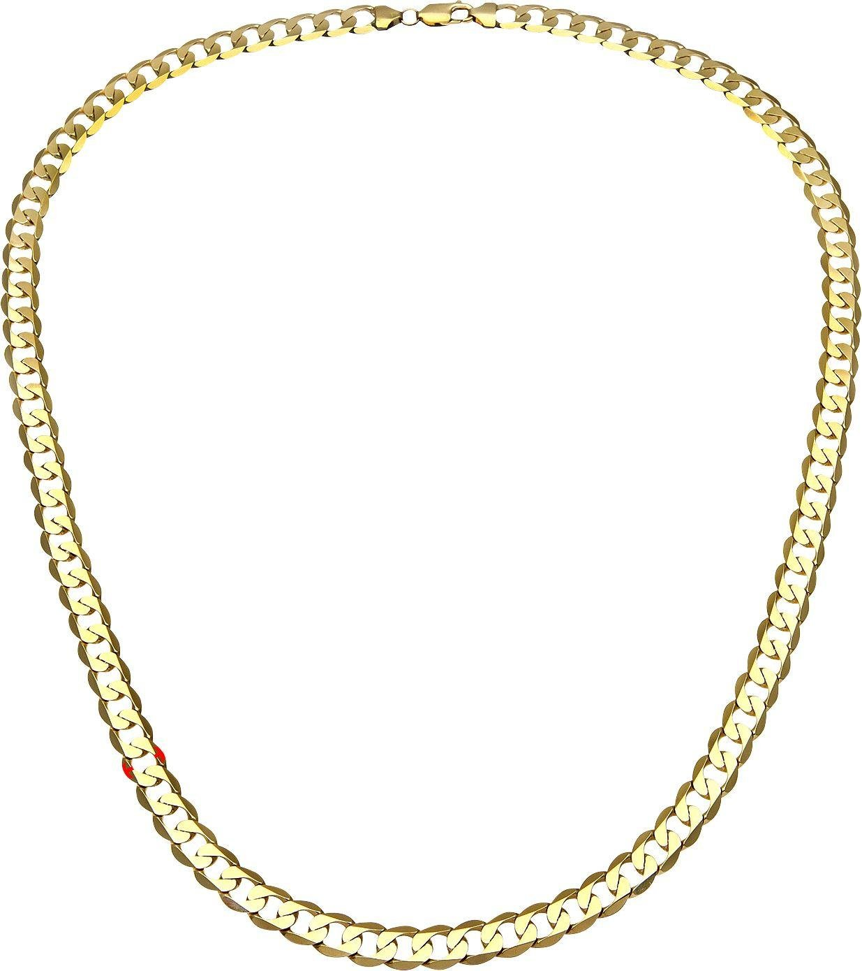 Image of 9ct Gold 18 inch Curb Chain Necklace